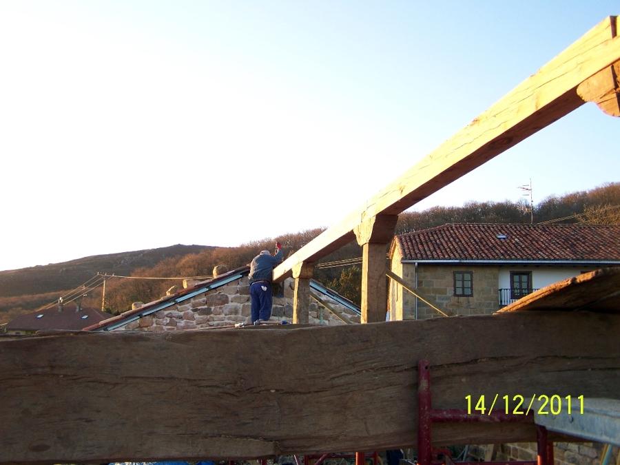 Estructura de cubierta