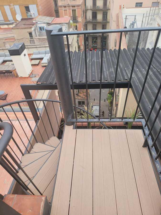 Estructura de escalera