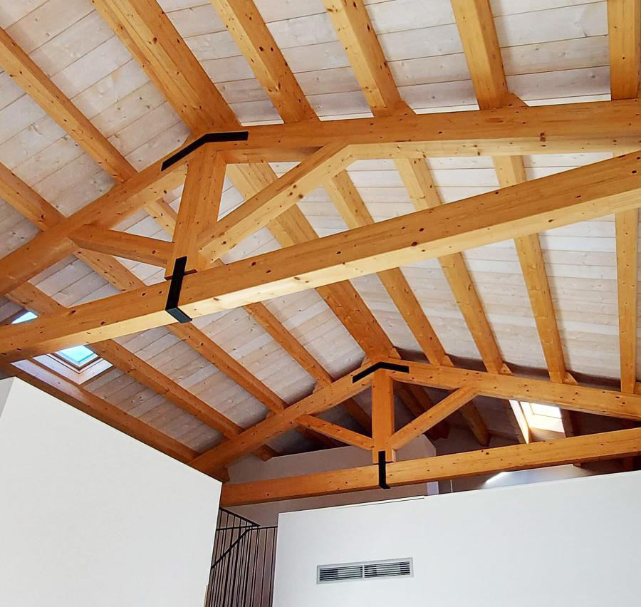 Estructura de fusta