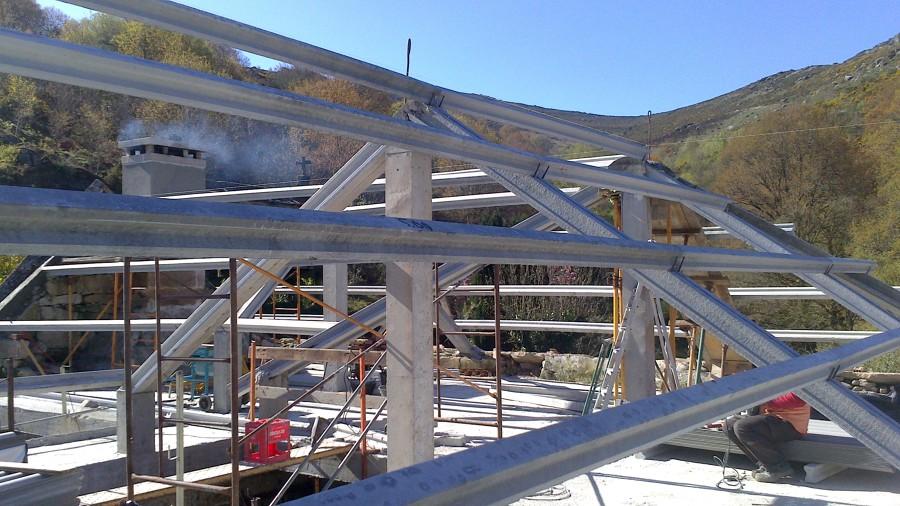 Estructura de hormigón prefabricado