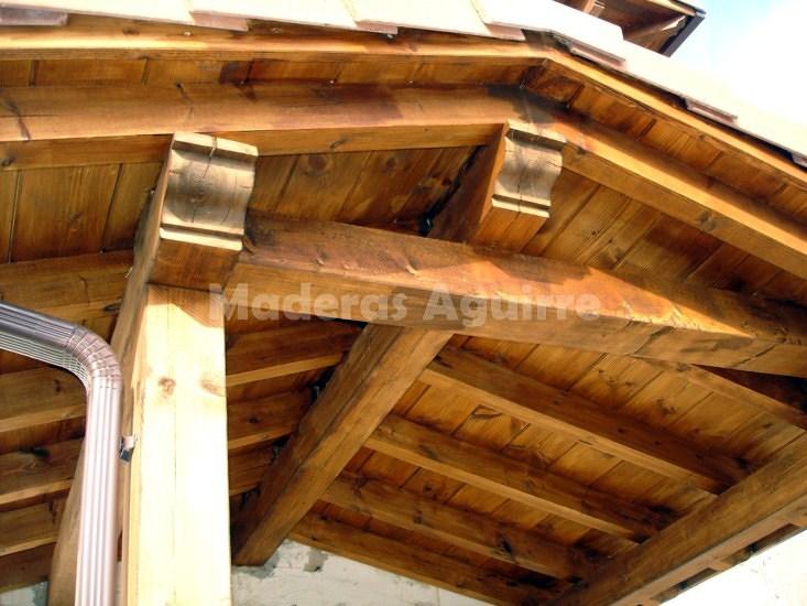 Foto estructura de madera de maderas aguirre 156630 - Maderas aguirre ...
