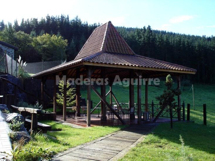 Foto estructura de madera de maderas aguirre 156633 habitissimo - Maderas aguirre ...