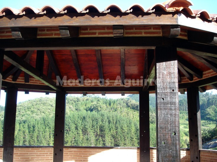 Foto estructura de madera de maderas aguirre 156638 habitissimo - Maderas aguirre ...
