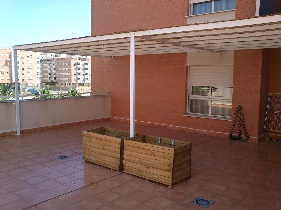 Foto estructura met lica cenador terraza de smp asociados - Estructuras para terrazas ...