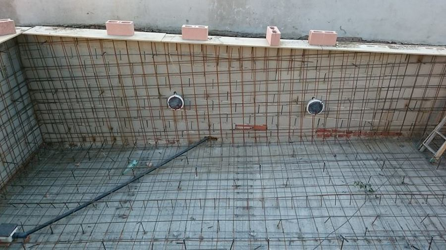 Obras realizadas ideas reformas viviendas for Estructura para piscina