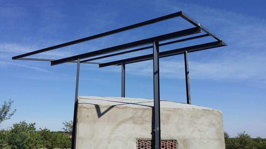 Estructura para riego solar