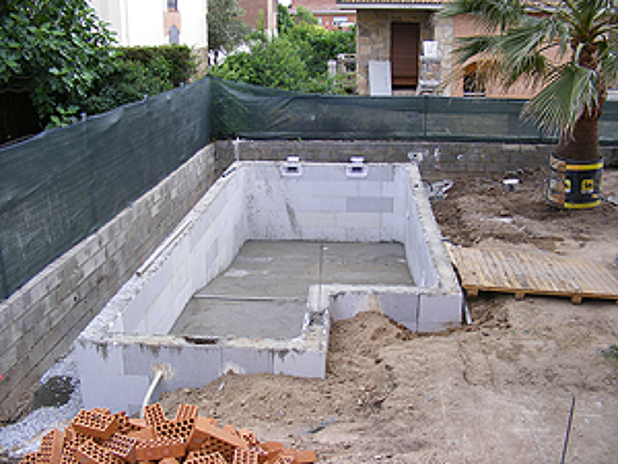 Construcci n piscina ideas construcci n piscinas for Piscinas de hormigon armado construccion