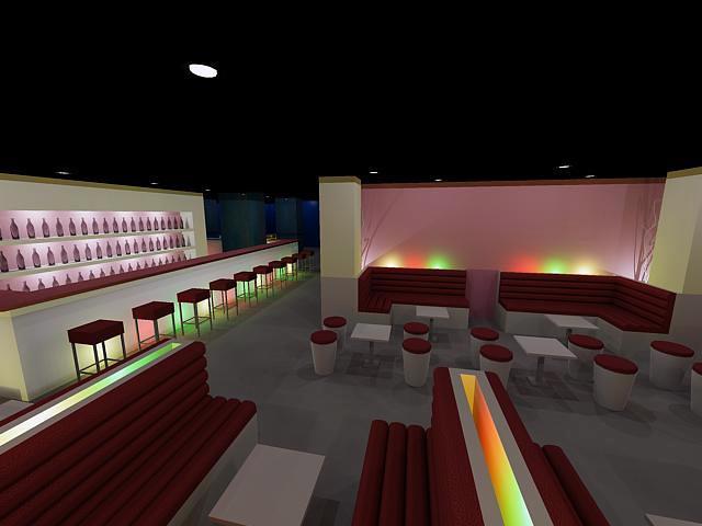 Estudio de diseño para una discoteca