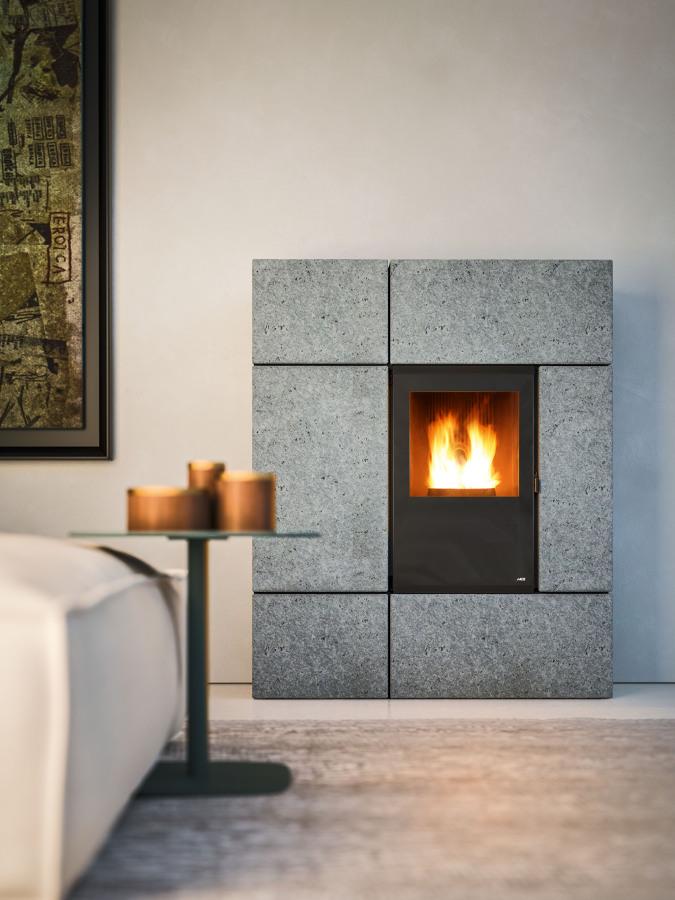 Descubre las ventajas de la calefacci n de pellets ideas - Instalar estufa pellets piso ...
