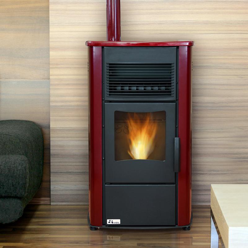 Estufa de pellets ideas energ as renovables - Estufas de pellets para pisos ...