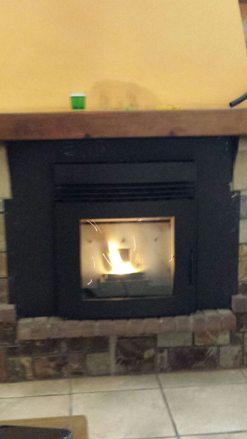 Instalaci n estufa pellet insertable ideas energ as - Instalacion estufas pellets ...