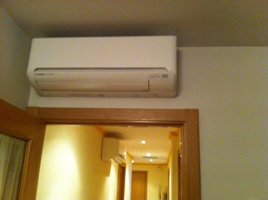 Evaporador del Salón de la vivienda