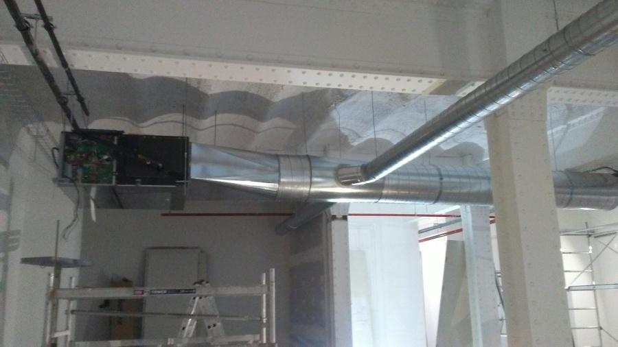 Evaporador para conductos