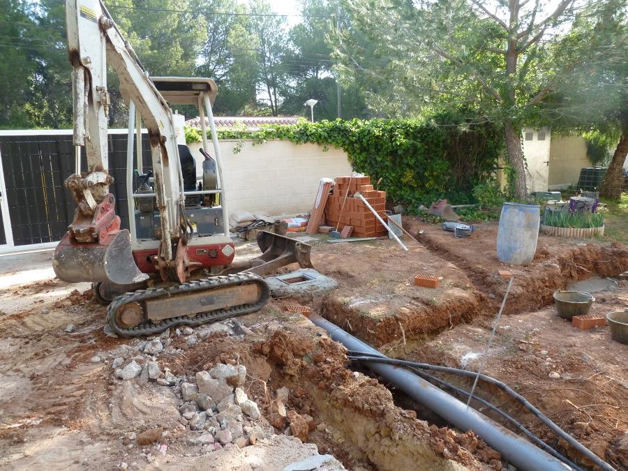 Excavación de cimentación
