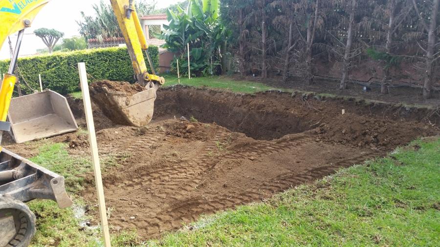 Excavación de terreno
