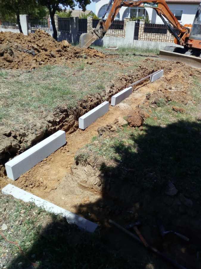 Excavación nueva terraza