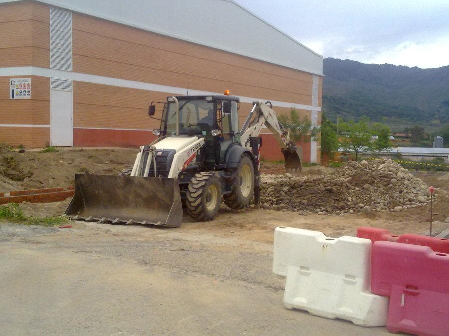 Excavación pista de padel