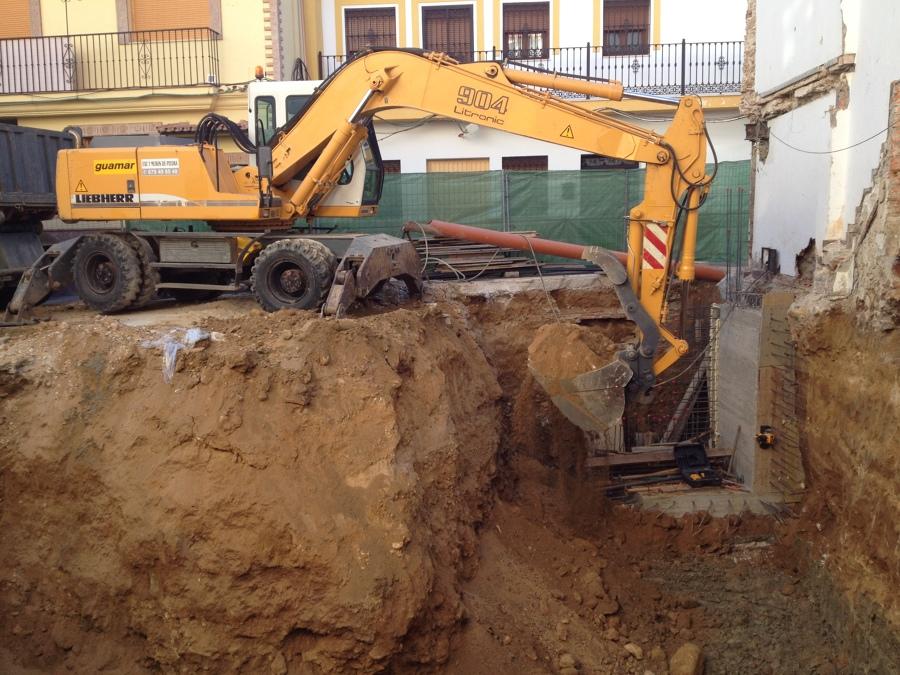 Excavación sotano
