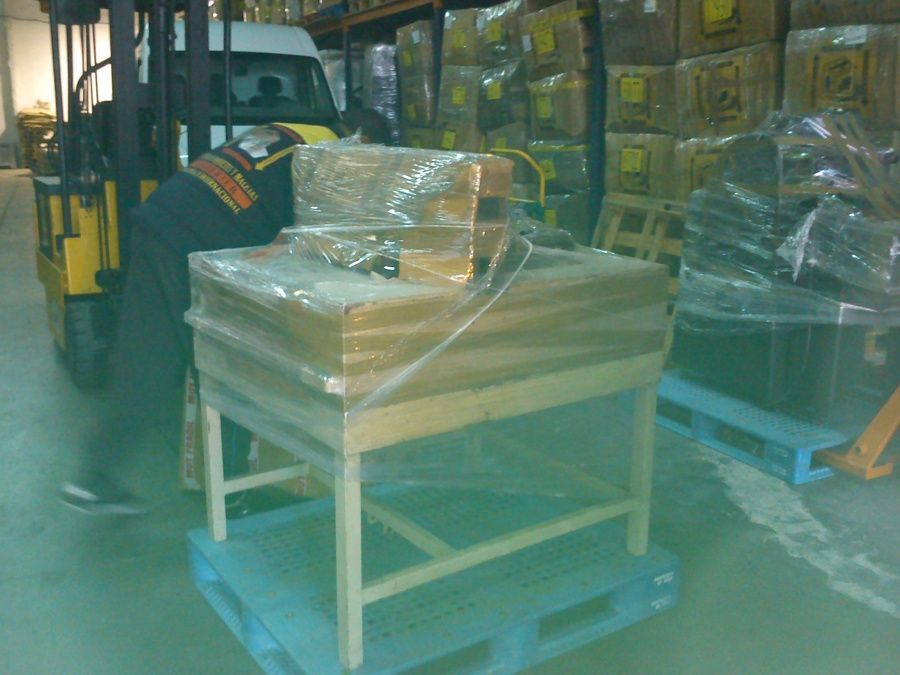 Exportacion de Maquina de Imprenta
