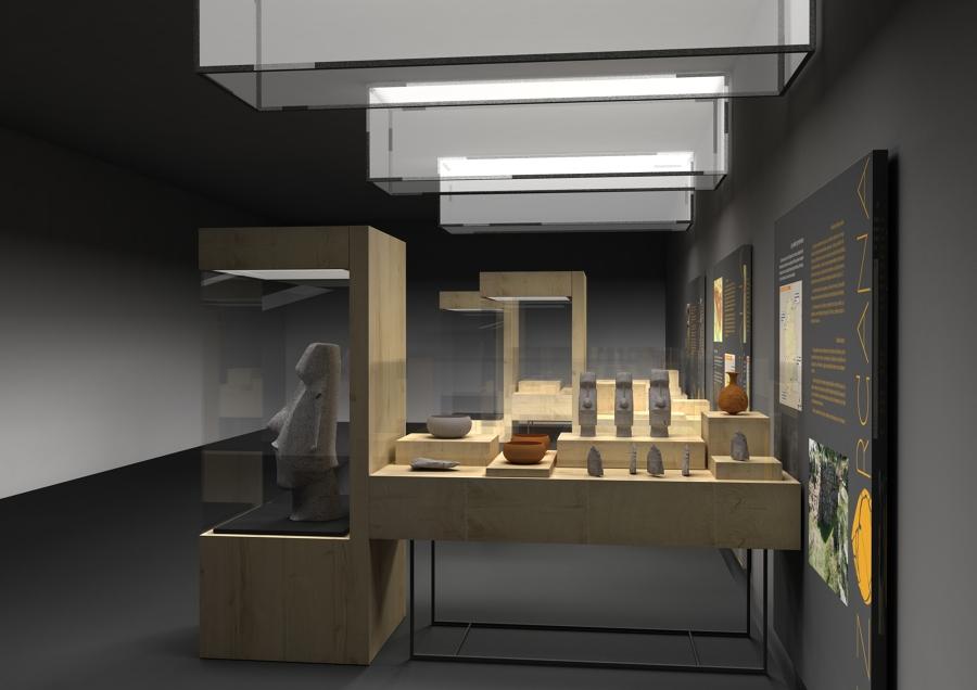 Exposición en Bezorcana. Arqueología