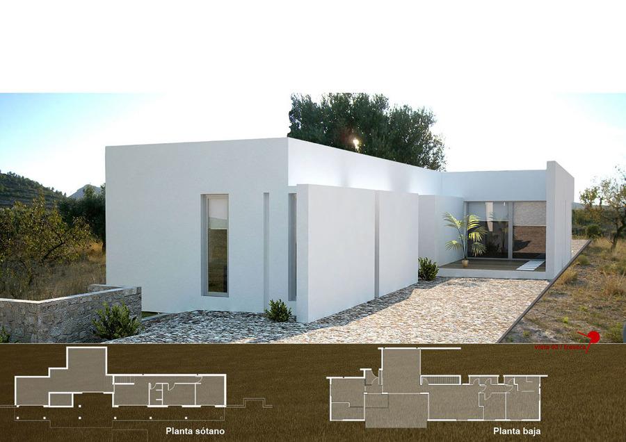 Vivienda unifamiliar en villar del arzobispo bilbao - Arquitectos en bilbao ...