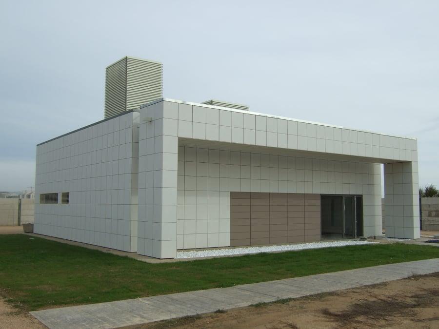 Crematorio de huesca ideas arquitectos - Arquitectos huesca ...