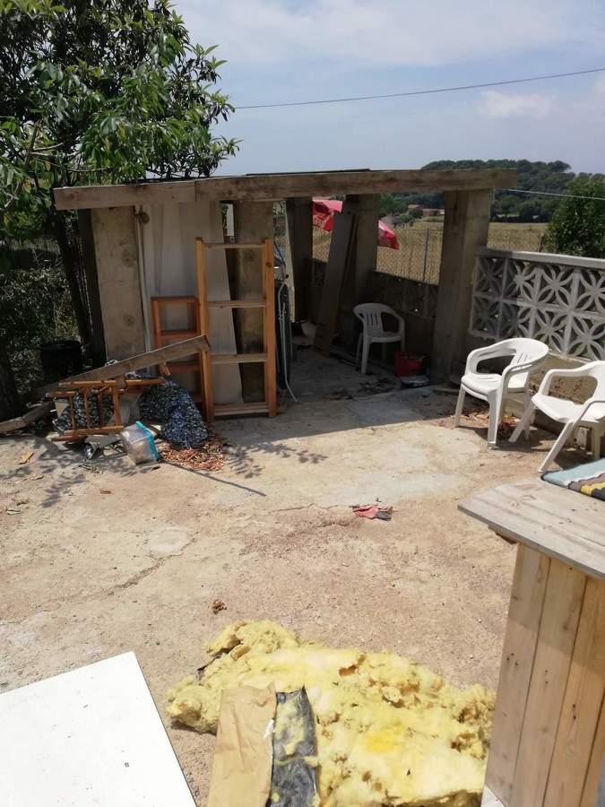 Exterior de la casa antes de la reforma