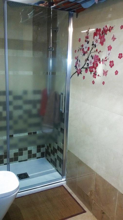 Exterior de la ducha