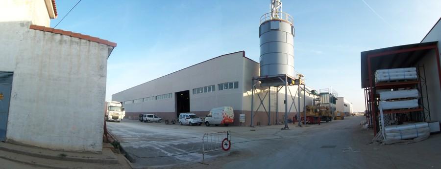 Exterior de la fábrica