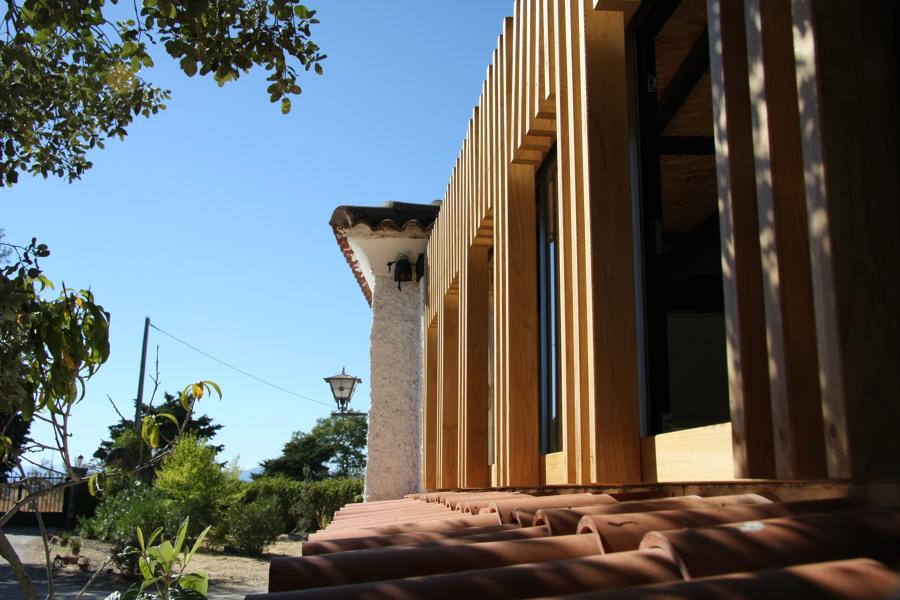 Exterior madera - Finca El Oliva