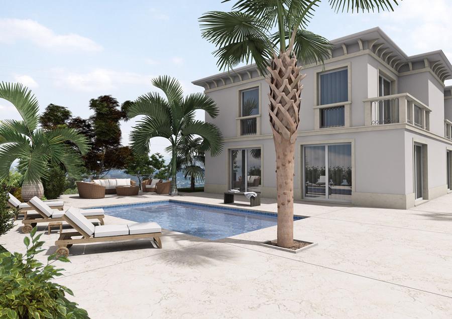 Foto exteriores fachadas jardines y piscinas varios - Jardines disenos exteriores ...