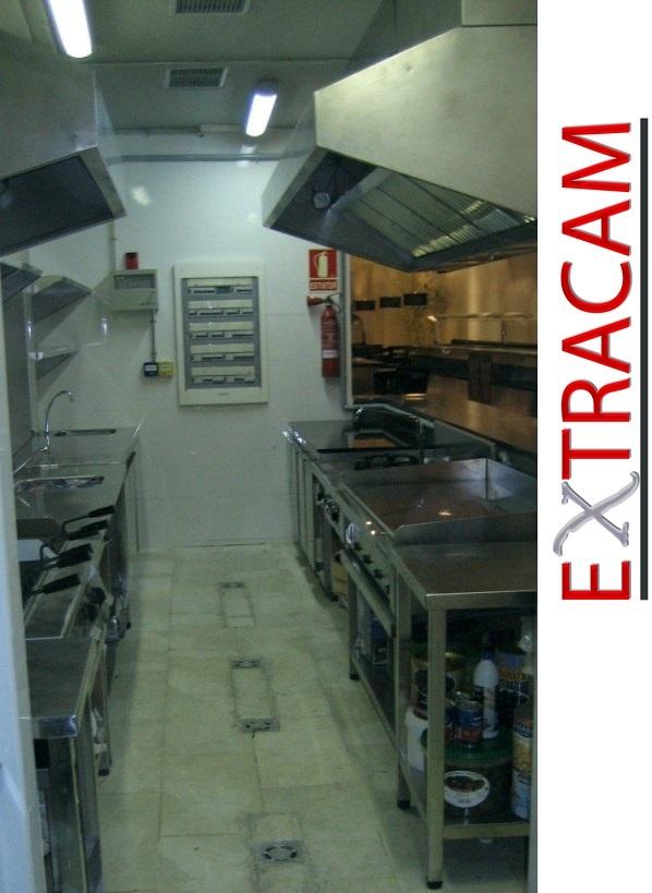 extraccion de humos en cocinas industriales