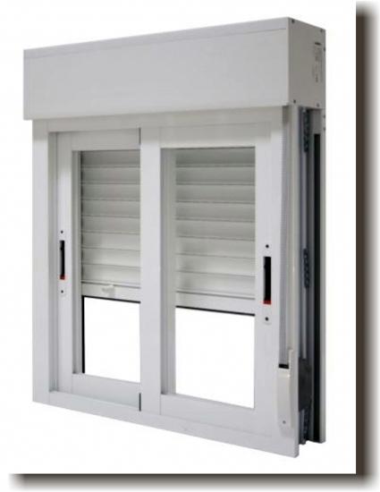Fabricaci n de 52 ventanas de pvc ideas carpinter a met lica for Precio ventana pvc con persiana