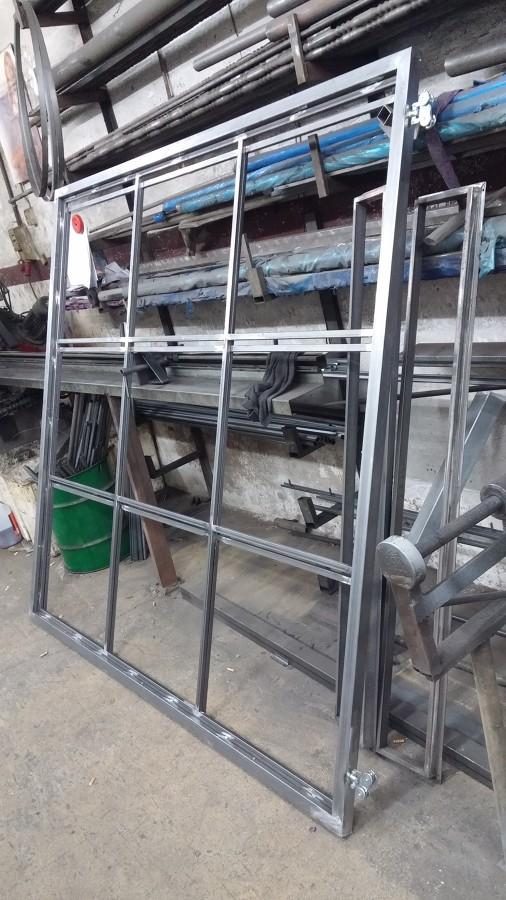 Fabricación del panel deslizante fabricado en hierro