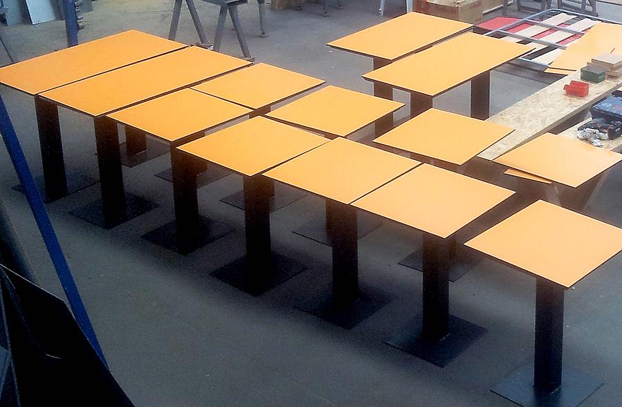 Fabricación Mesas