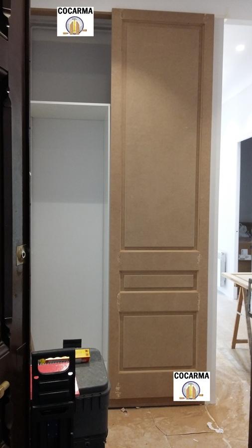 Fabricando puerta  a medida