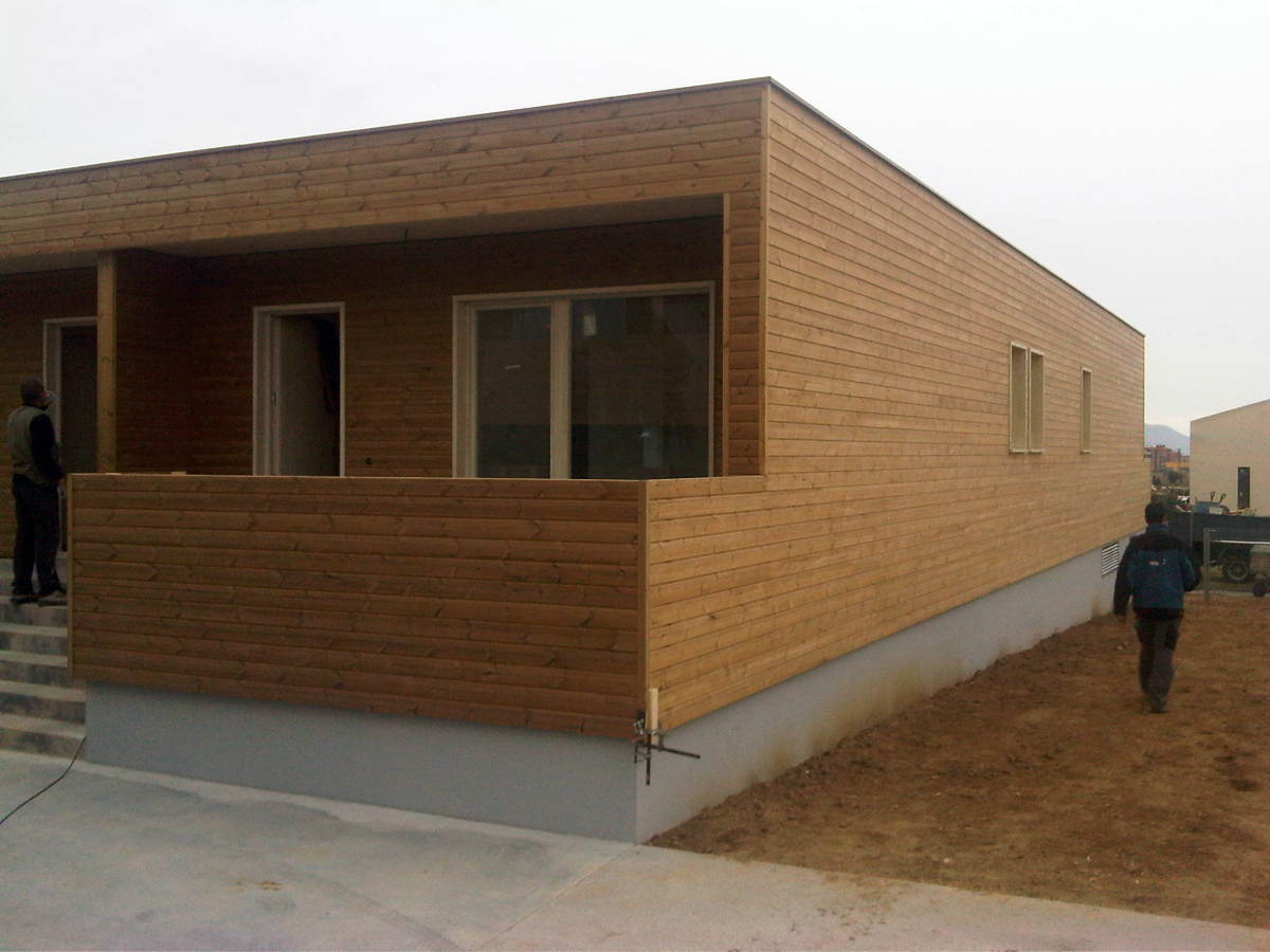 Cases Adosades de Fusta a Vilafant   Ideas Construcción ... - photo#16