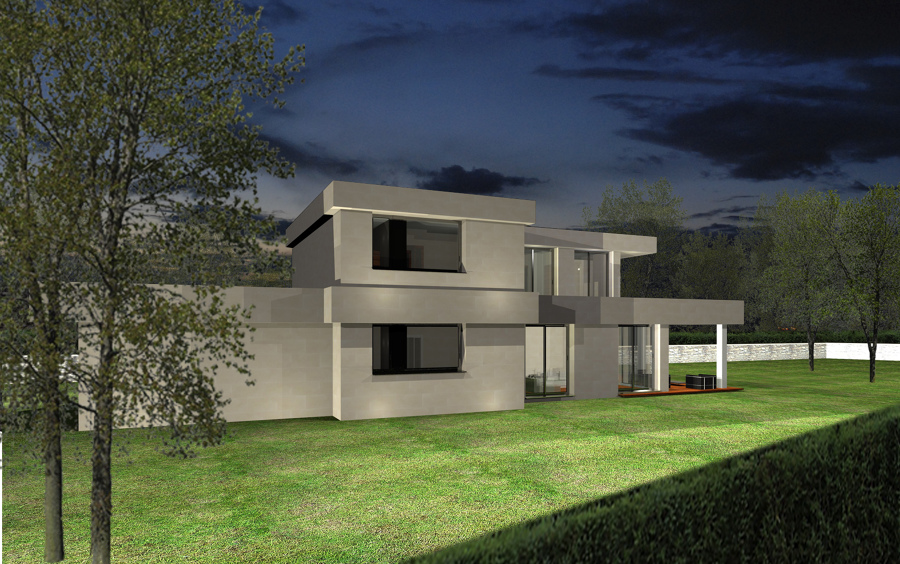 Proyecto vivienda unifamiliar en getxo ideas arquitectos - Viviendas en getxo ...