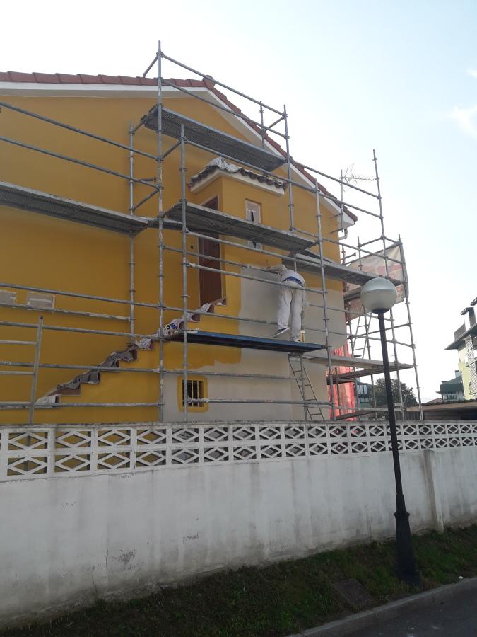 Pintado de fachada en torrelavega ideas pintores - Pintado de fachadas ...