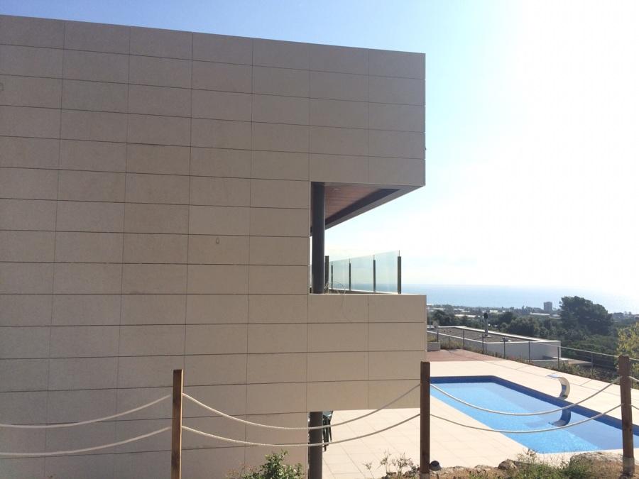 Proyecto fachada ventilda caliza wwwaplacadosfecomarcom ideas marmolistas - Aplacado piedra fachada ...