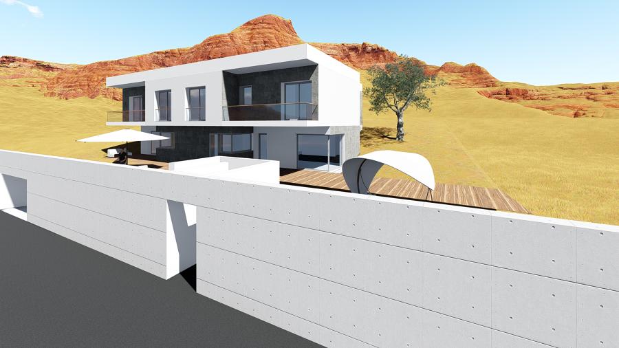 Vivienda unifamiliar en vigo ideas arquitectos - Arquitectos en vigo ...