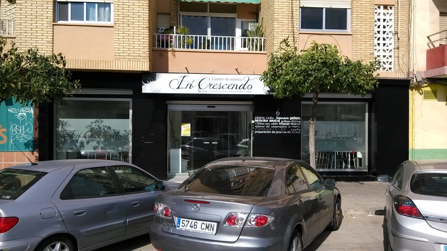 Fachada Calle Rio Escalona, 42 bajo - Valencia