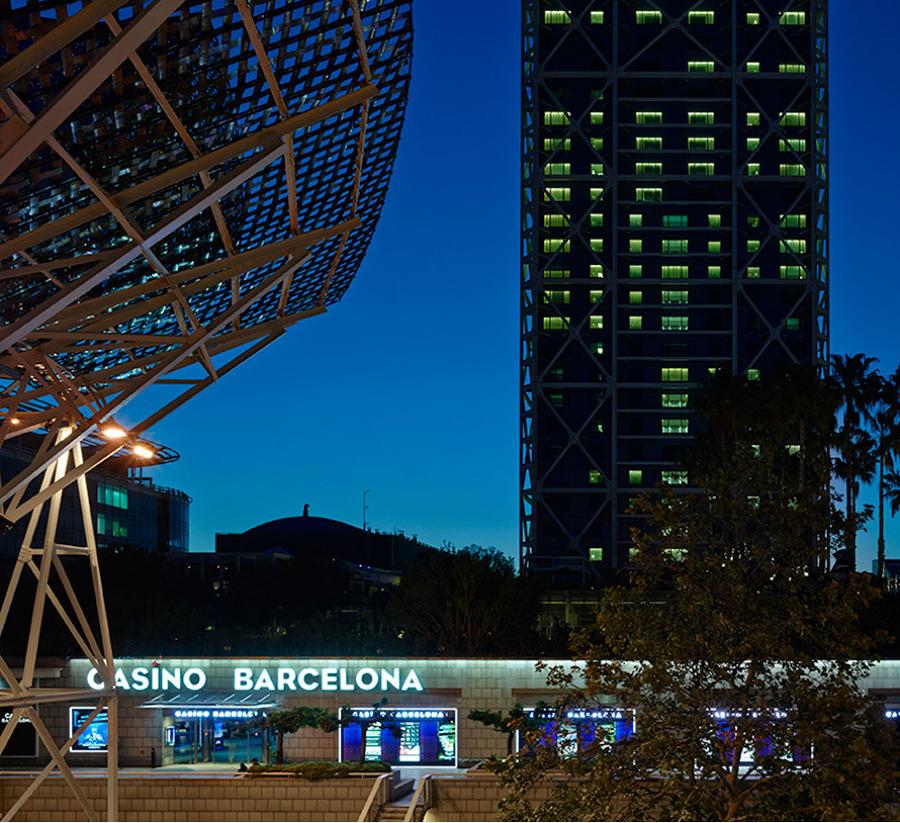 Fachada Casino Barcelona