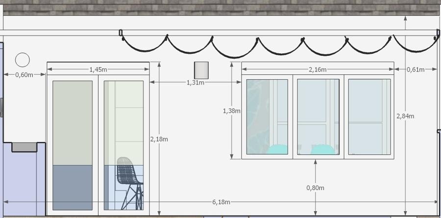 Ampliacion de cocina y reforma patio con barbacoa y - Cocinas con salida al patio ...
