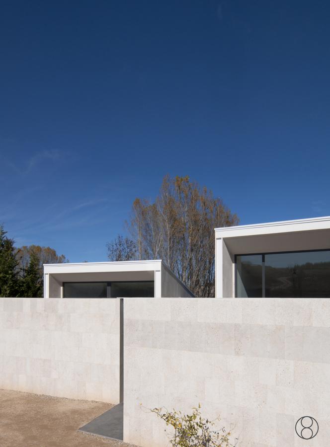 Foto fachada de acceso de estudio ca08 arquitectos - Arquitectos en soria ...