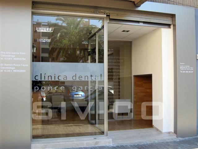 Clinica dental valencia ideas reformas locales comerciales - Fachadas clinicas dentales ...