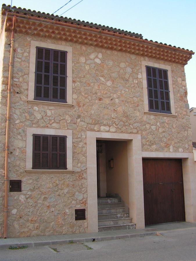 Trabajos r sticos en mar s y piedra ideas construcci n casas for Fachadas rusticas de piedra y ladrillo