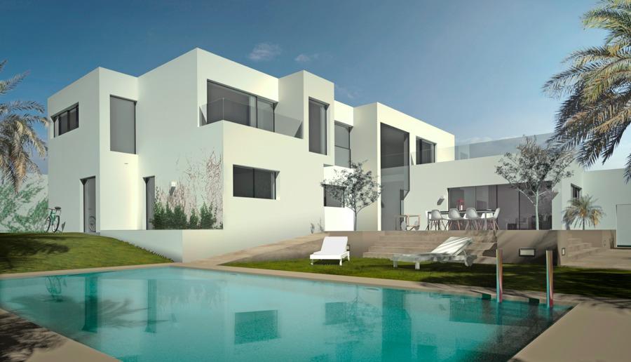 Vivienda unifamiliar minimalista en marbella ideas - Arquitectos en marbella ...