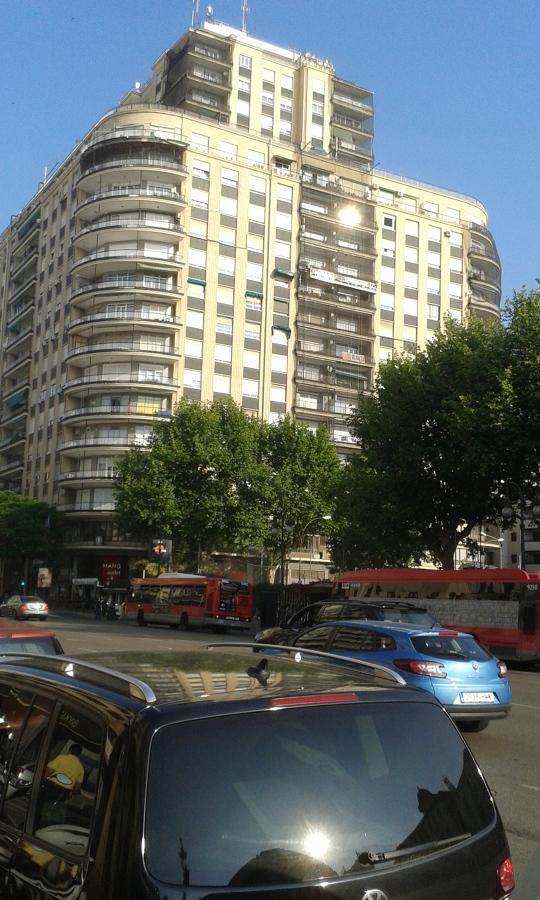 Fachada lateral Edificio Játiva