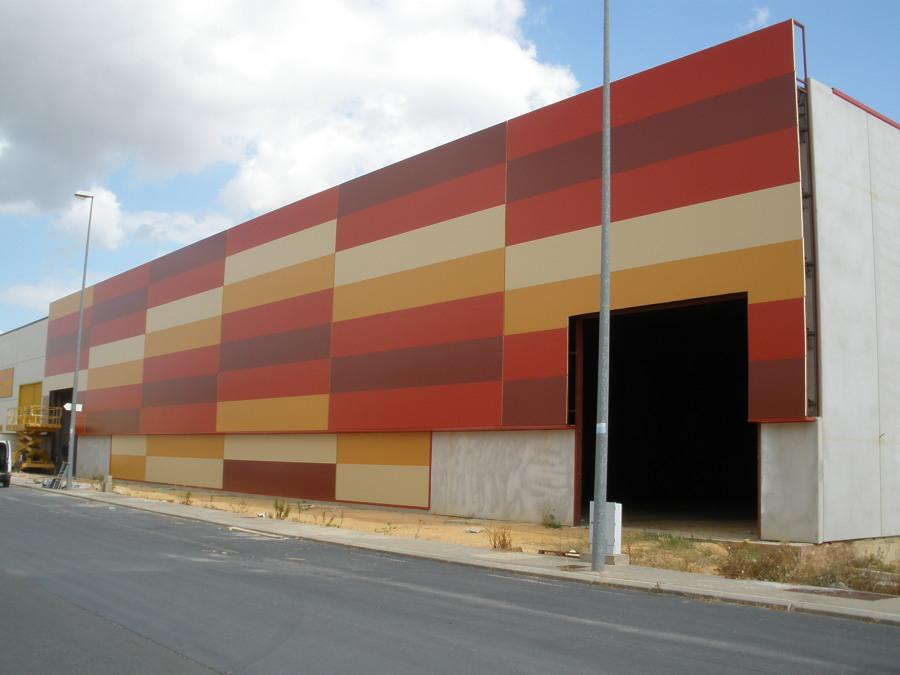 Foto fachada panel sandwich prefabricado2 de tintodiel cubiertas y cerramientos 790056 - Casas de panel sandwich ...
